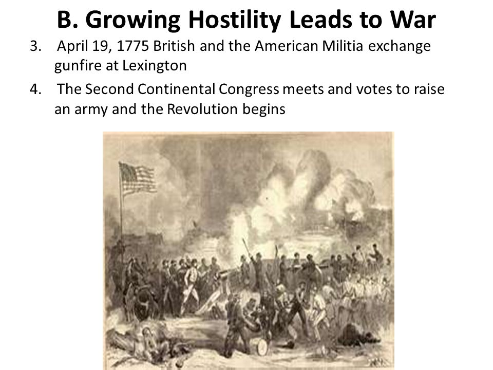 B. Growing Hostility Leads to War