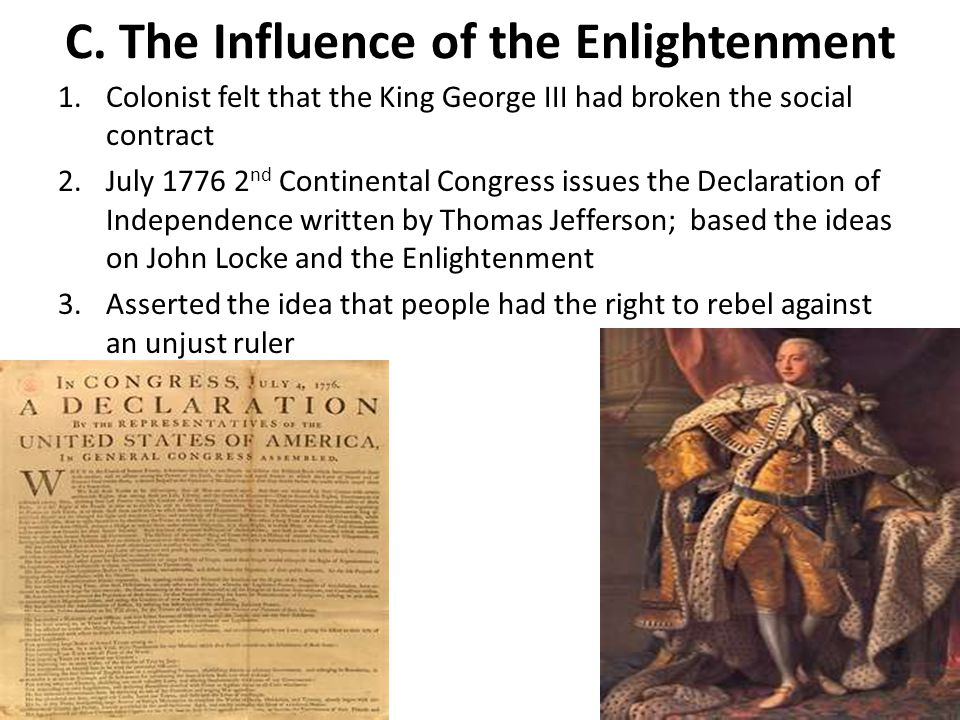 C. The Influence of the Enlightenment