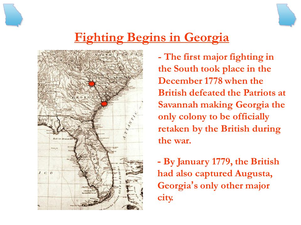 Fighting Begins in Georgia