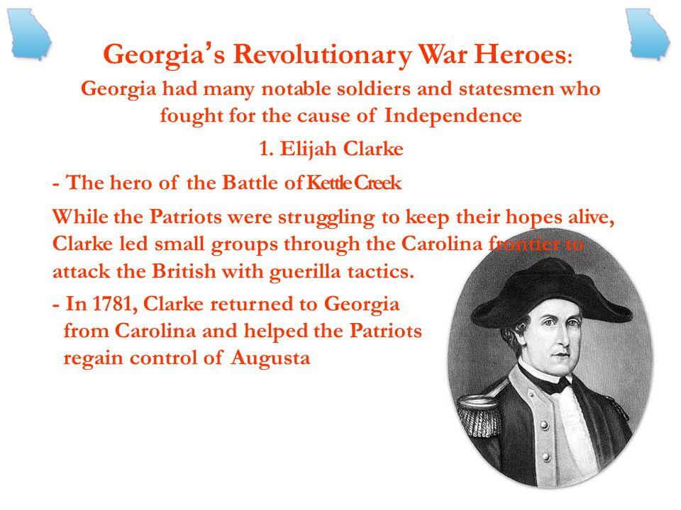 Georgia's Revolutionary War Heroes: