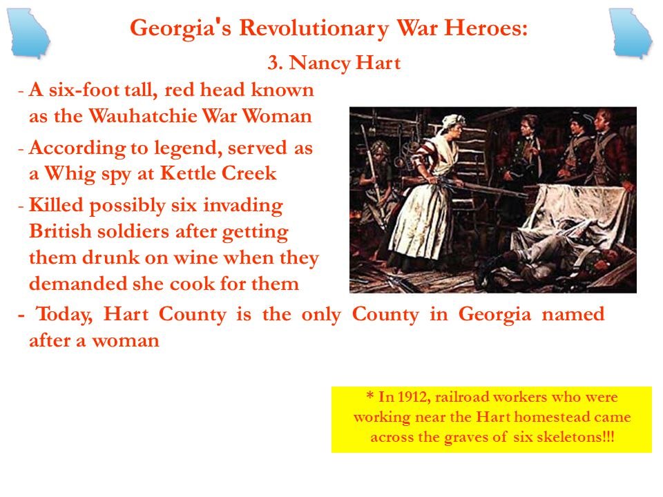 Georgia s Revolutionary War Heroes: