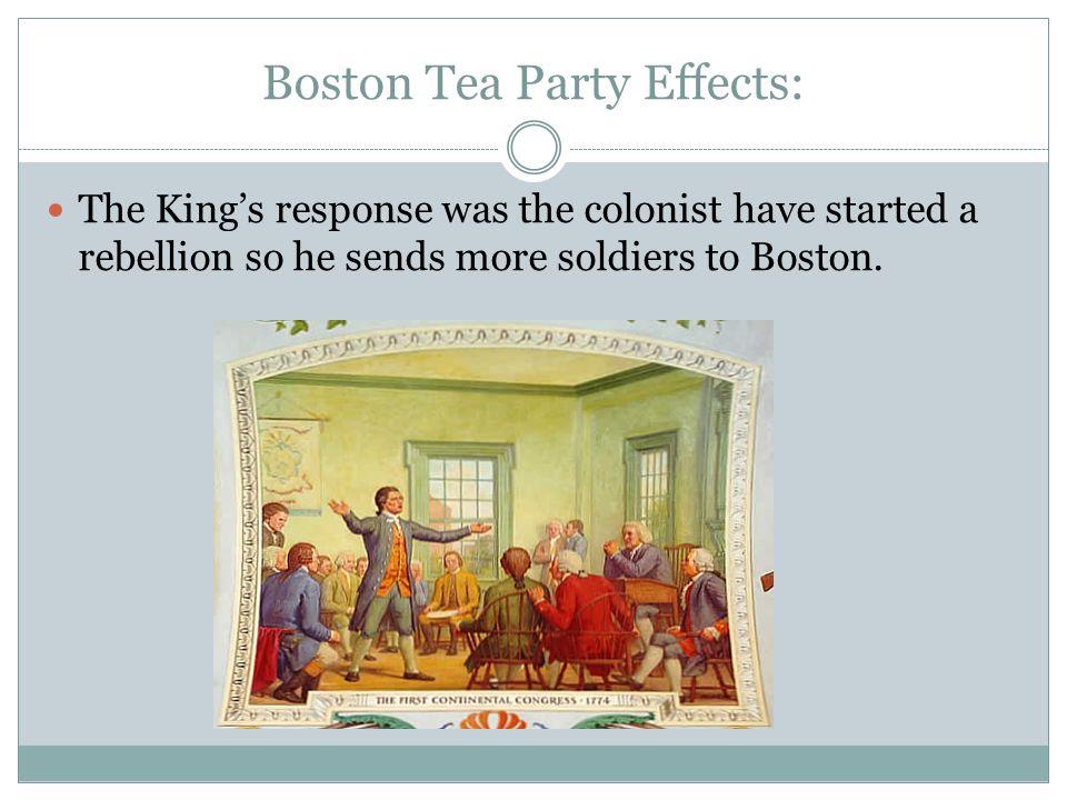 Boston Tea Party Effects: