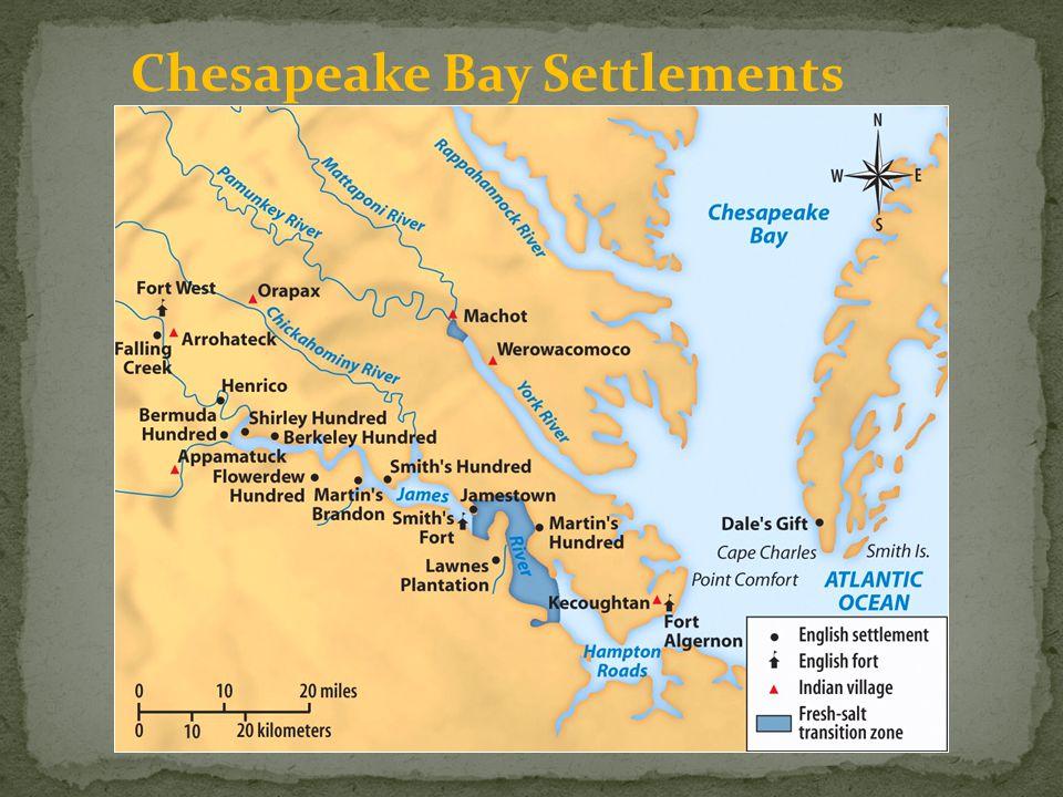 Chesapeake Bay Settlements