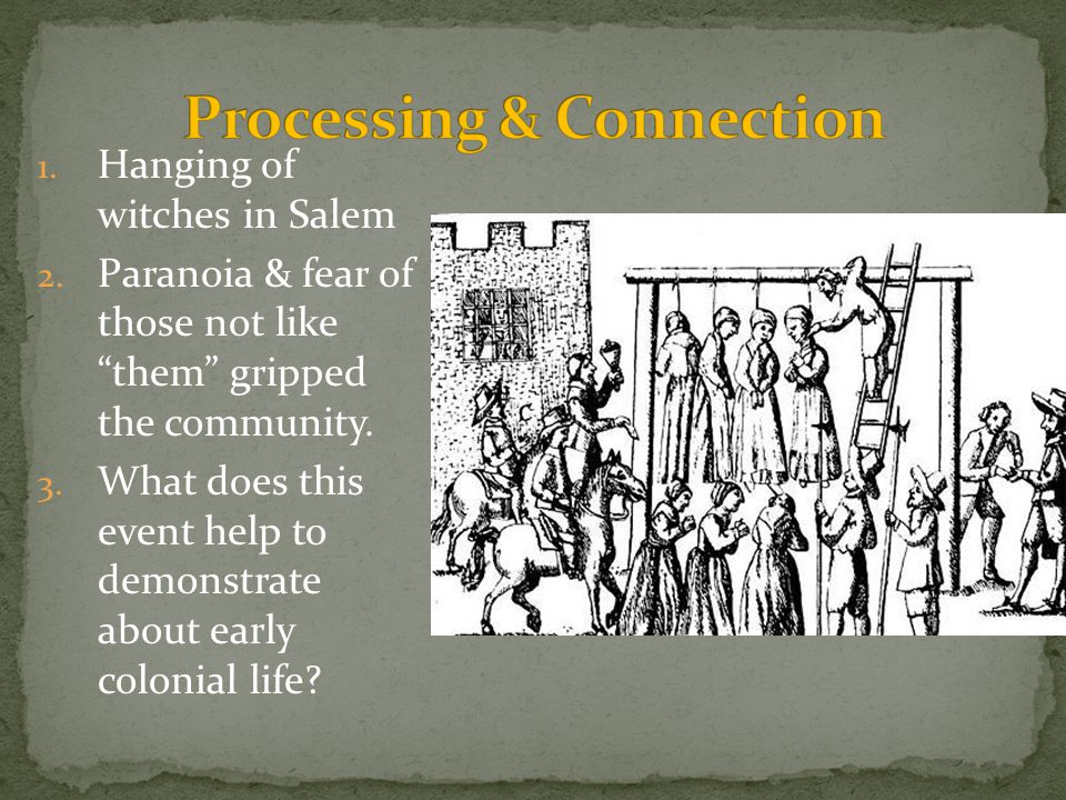 Processing & Connection