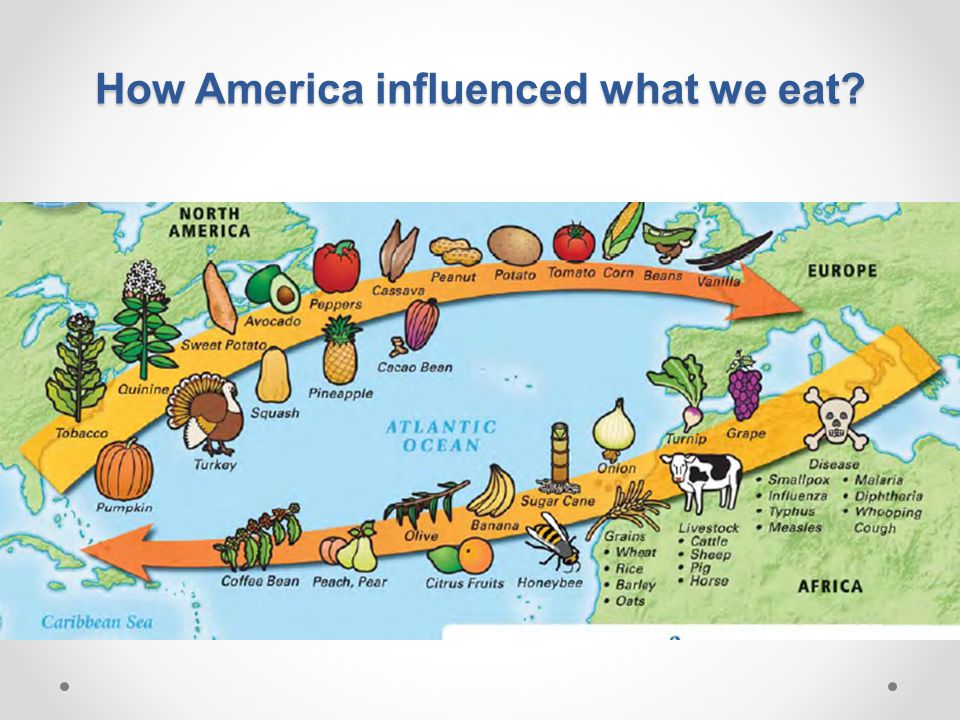 How America influenced what we eat