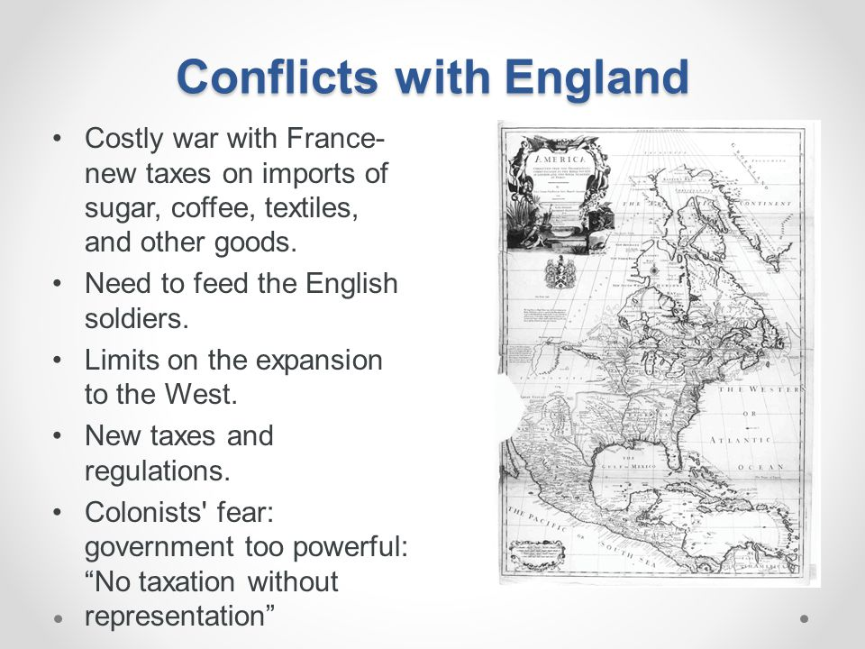 Conflicts with England