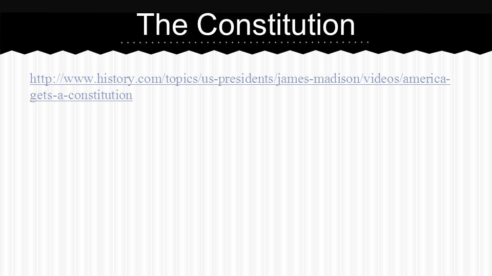 Interesting Facts about The Constitution