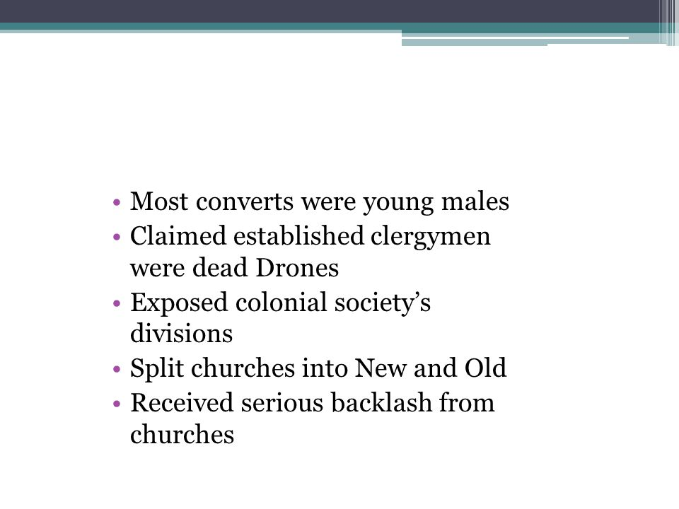 Most converts were young males