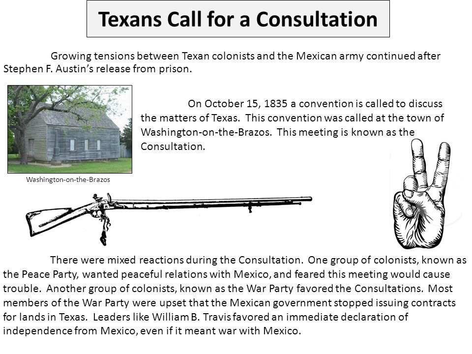 Texans Call for a Consultation