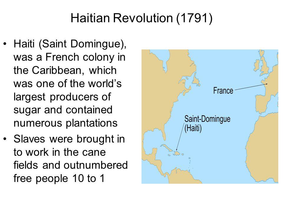 Haitian Revolution (1791)