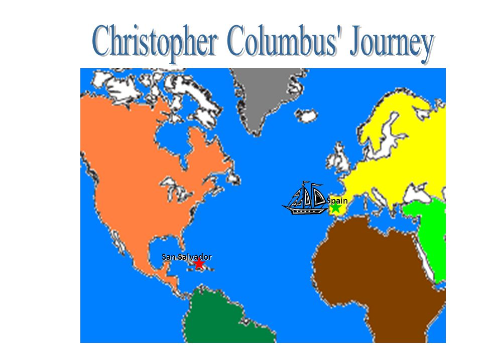 Christopher Columbus Journey