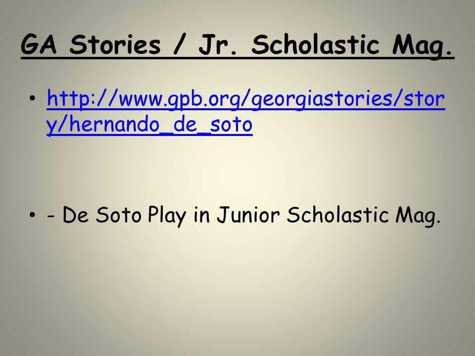 GA Stories / Jr. Scholastic Mag.
