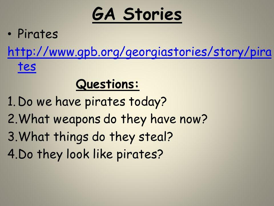 GA Stories Pirates http://www.gpb.org/georgiastories/story/pirates