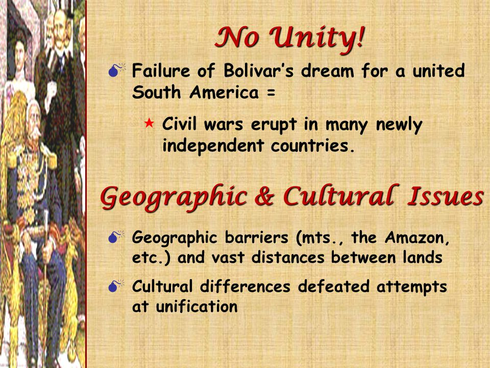 Geographic & Cultural Issues