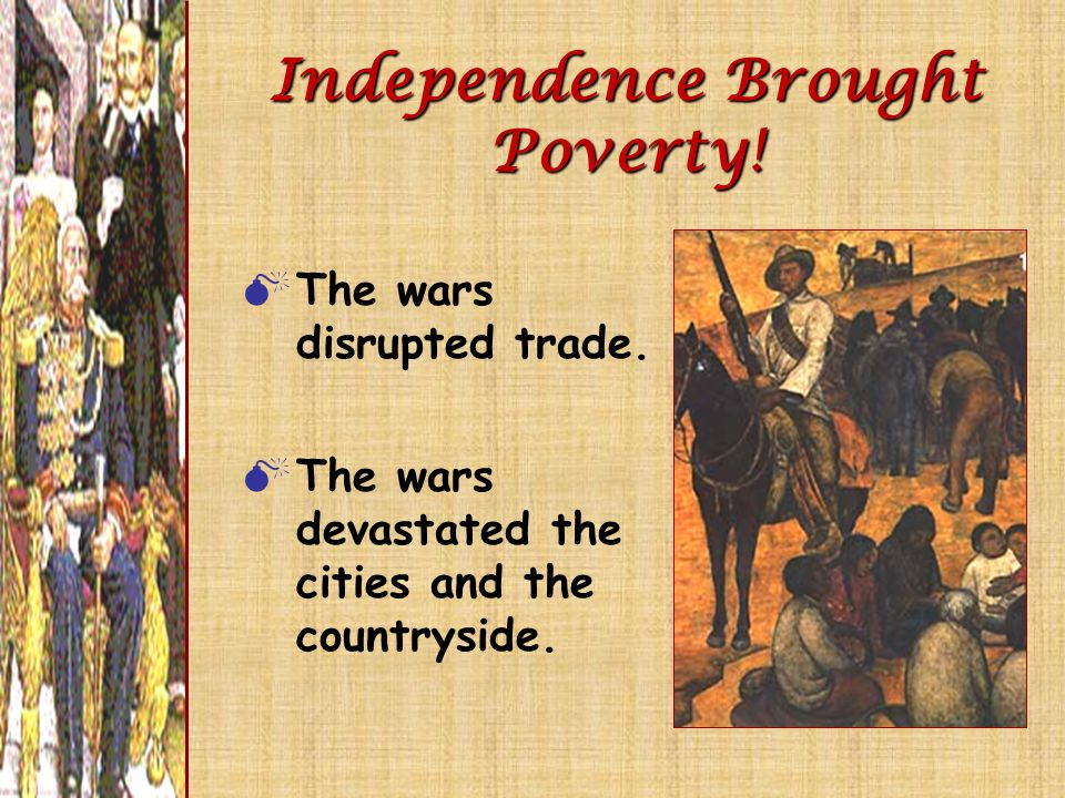 Independence Brought Poverty!