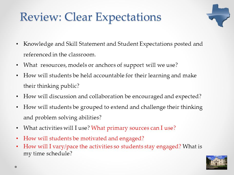 Review: Clear Expectations