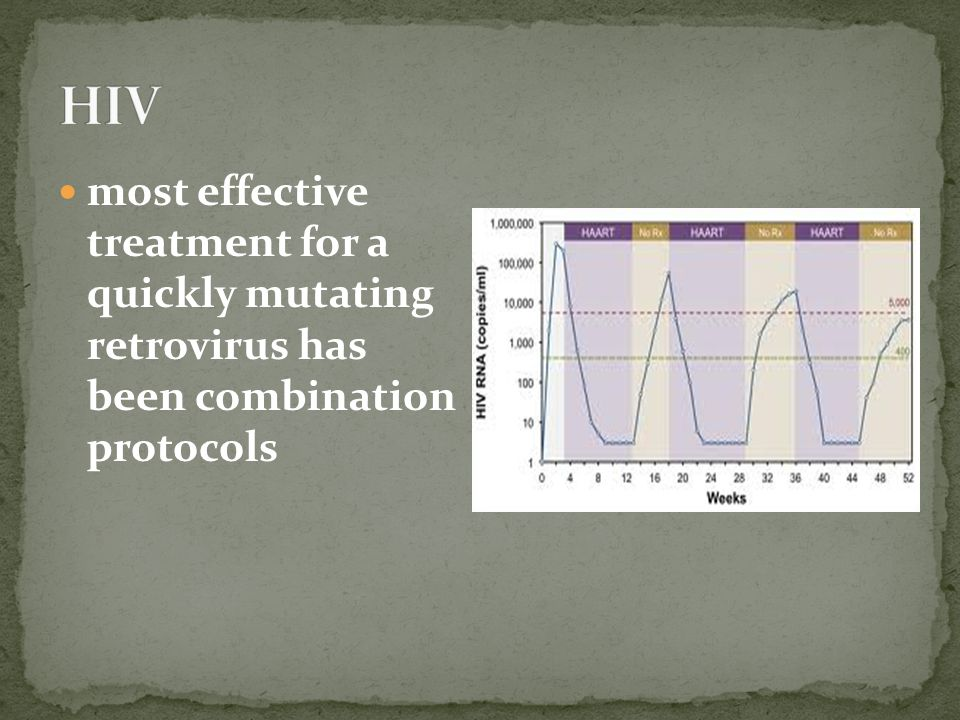 HIV most effective treatment for a quickly mutating retrovirus has been combination protocols