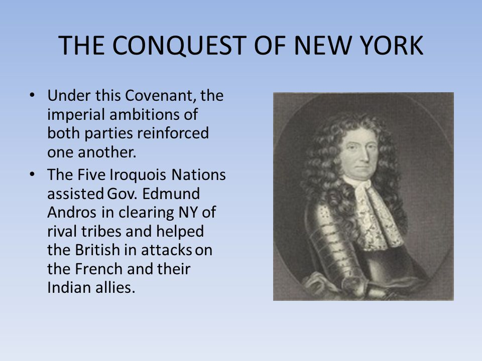 THE CONQUEST OF NEW YORK