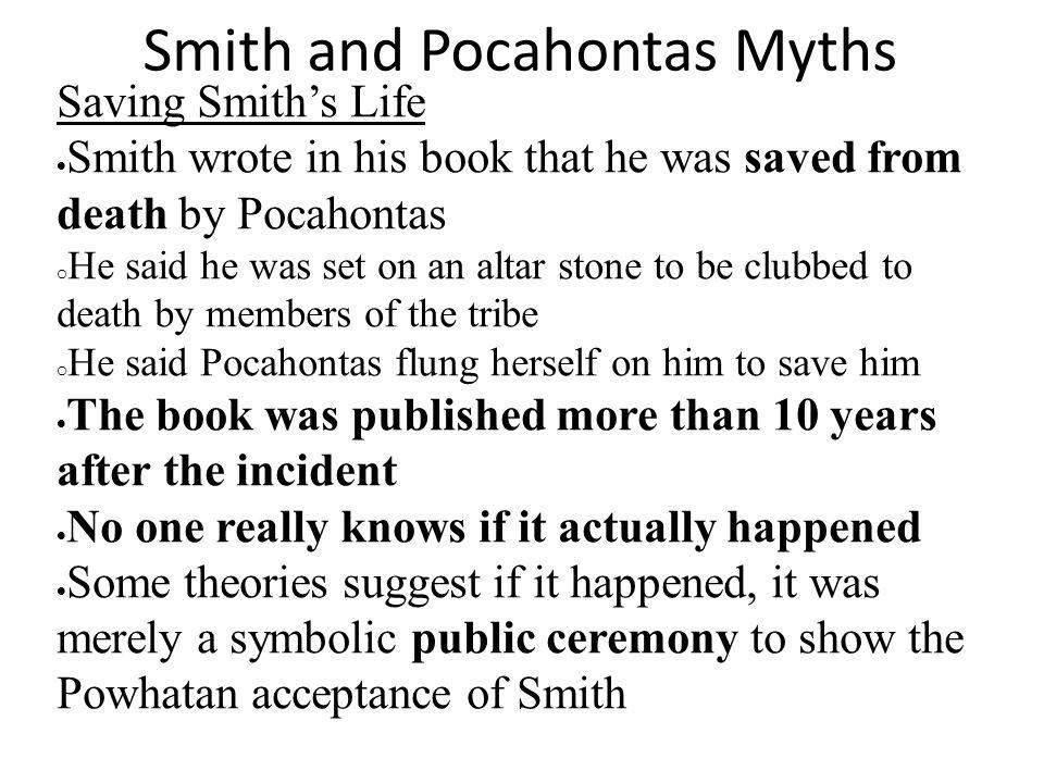 Smith and Pocahontas Myths