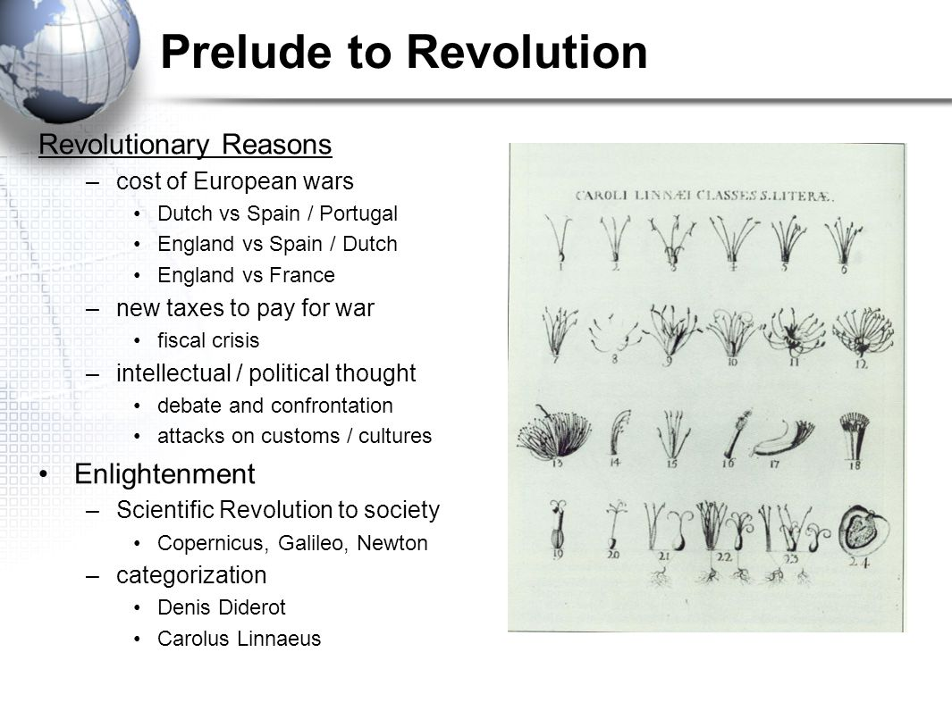 Prelude to Revolution Revolutionary Reasons Enlightenment