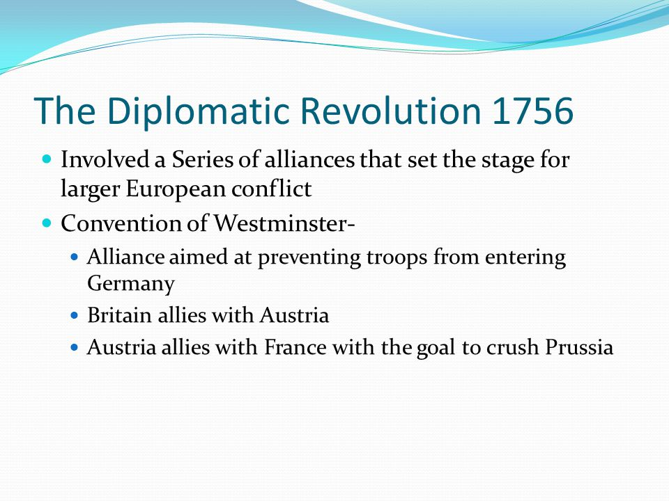 The Diplomatic Revolution 1756