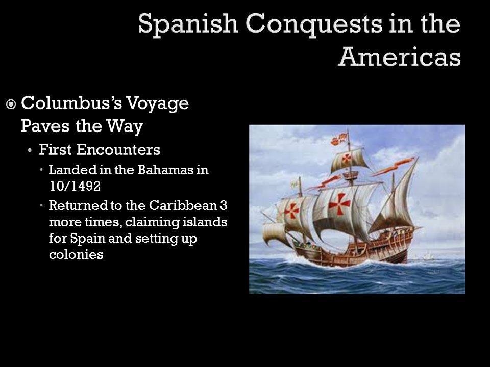 Spanish Conquests in the Americas