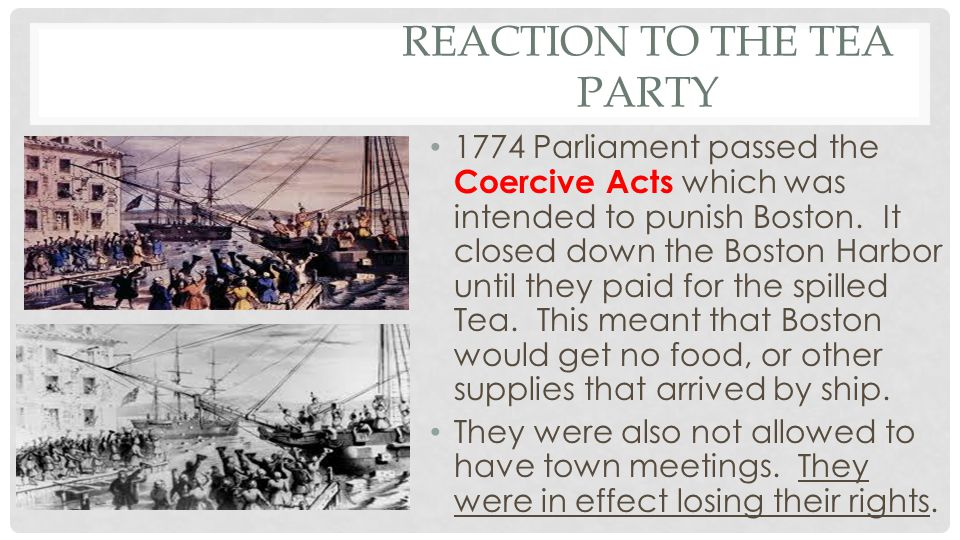 Reaction to the Tea Party