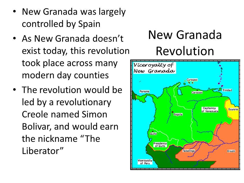 New Granada Revolution
