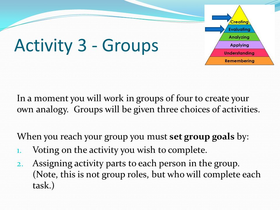 First Period Activity 3 - Groups.