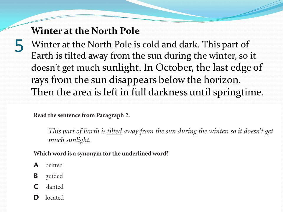 5 Winter at the North Pole