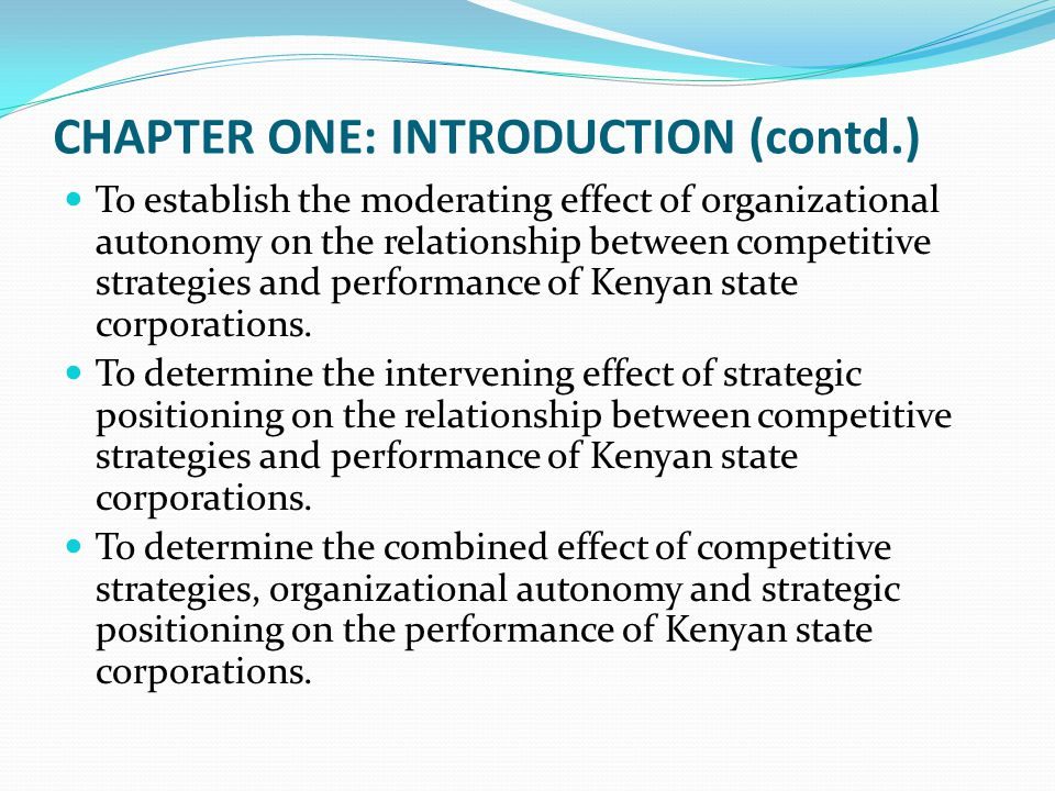 chapter one introduction thesis