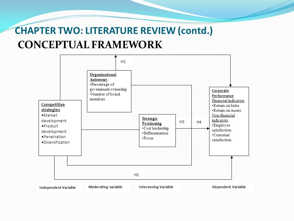 Review thesis framework