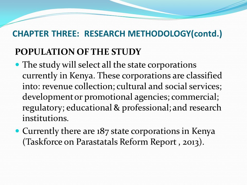 Thesis methodology chapter 3