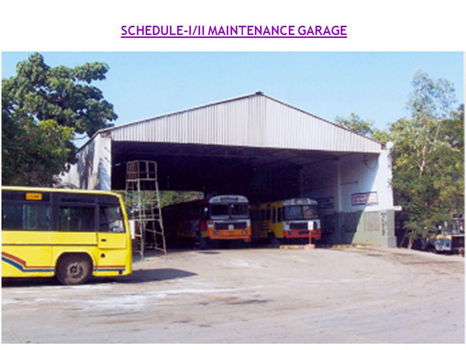 SCHEDULE-I/II MAINTENANCE GARAGE