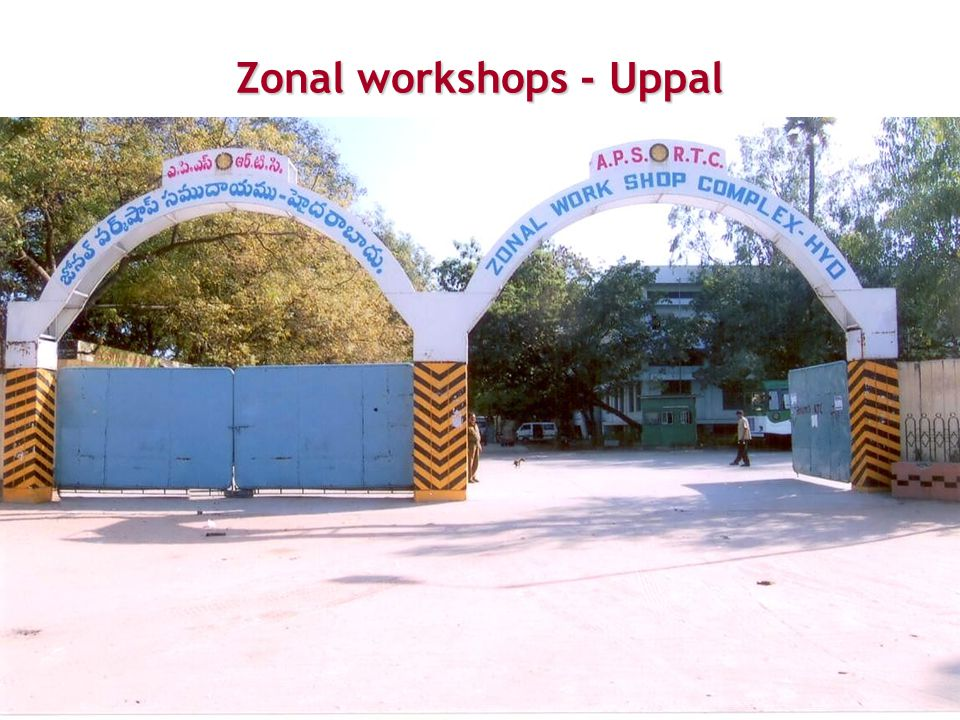 Zonal workshops - Uppal