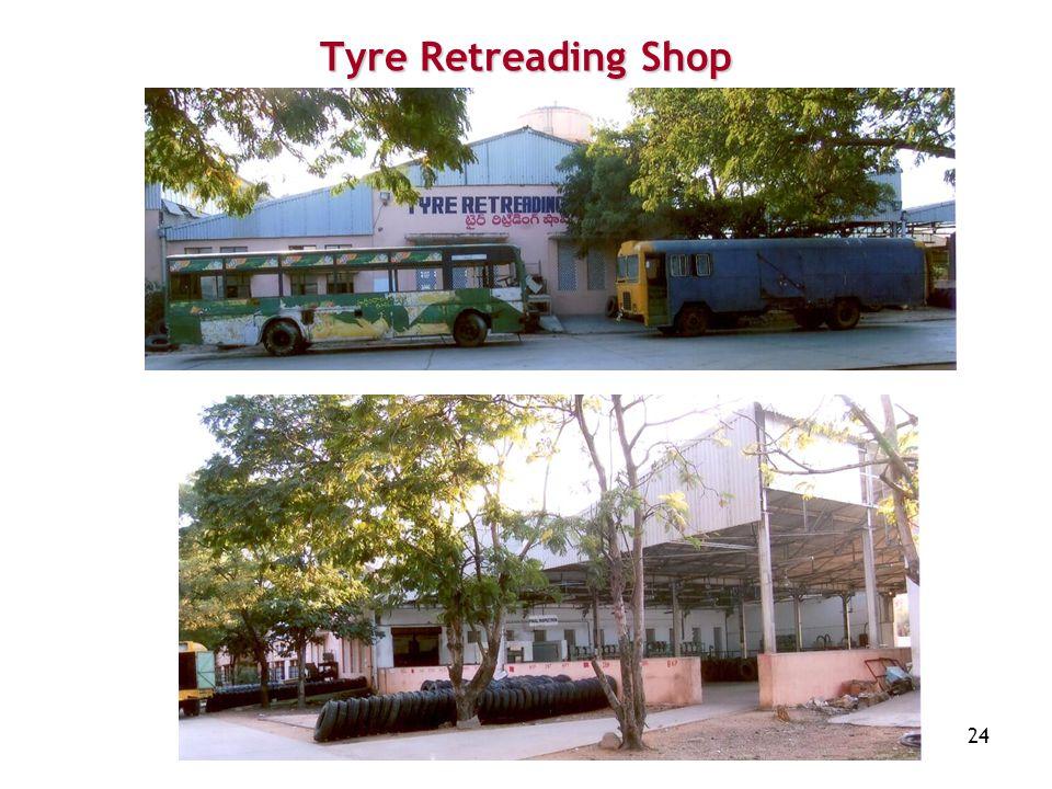 Tyre Retreading Shop
