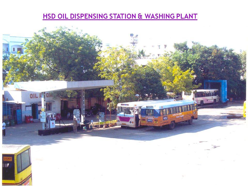 HSD OIL DISPENSING STATION & WASHING PLANT