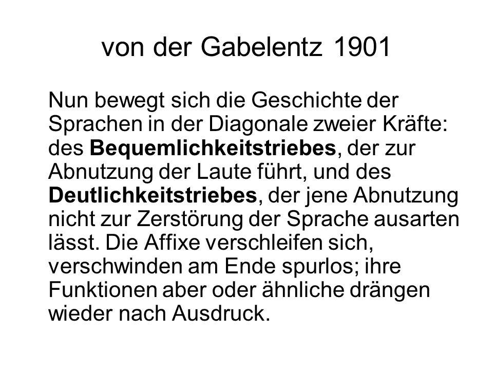 von der Gabelentz 1901