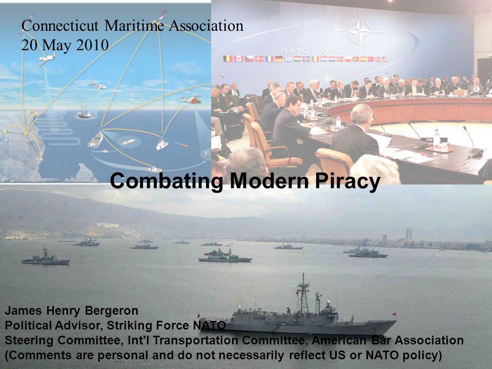 Combating Modern Piracy