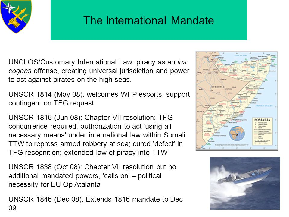 The International Mandate