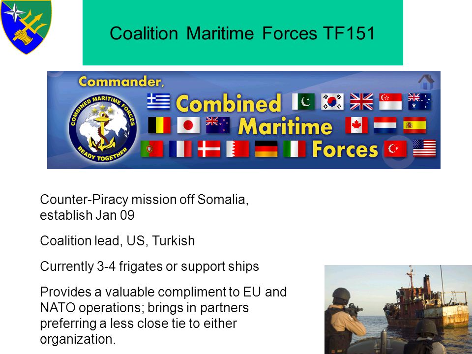 Coalition Maritime Forces TF151