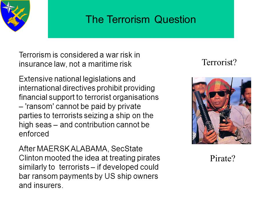 The Terrorism Question