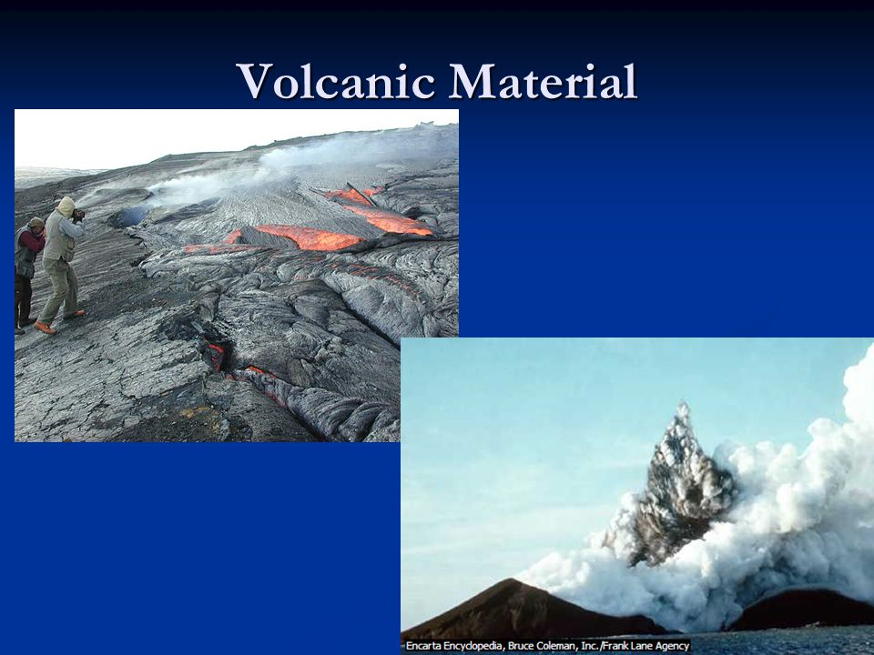 Volcanic Material