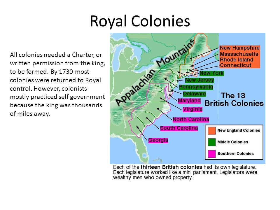 Royal Colonies