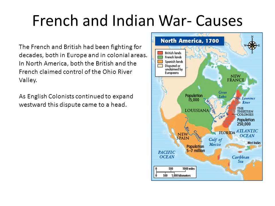 French and Indian War- Causes