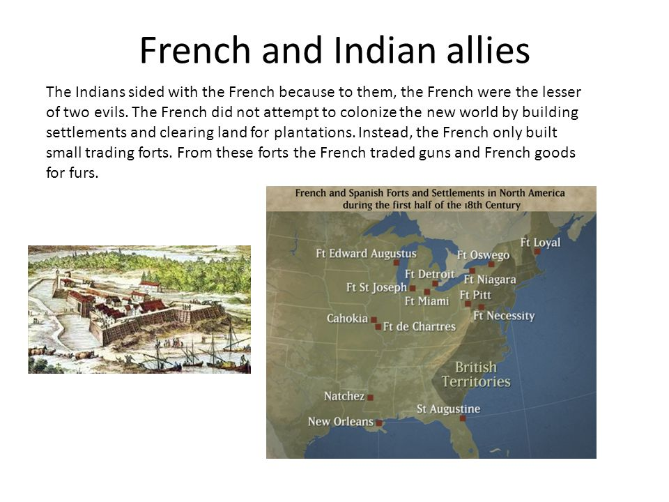 French and Indian allies