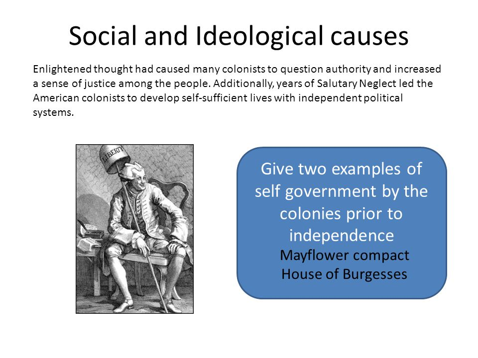 Social and Ideological causes