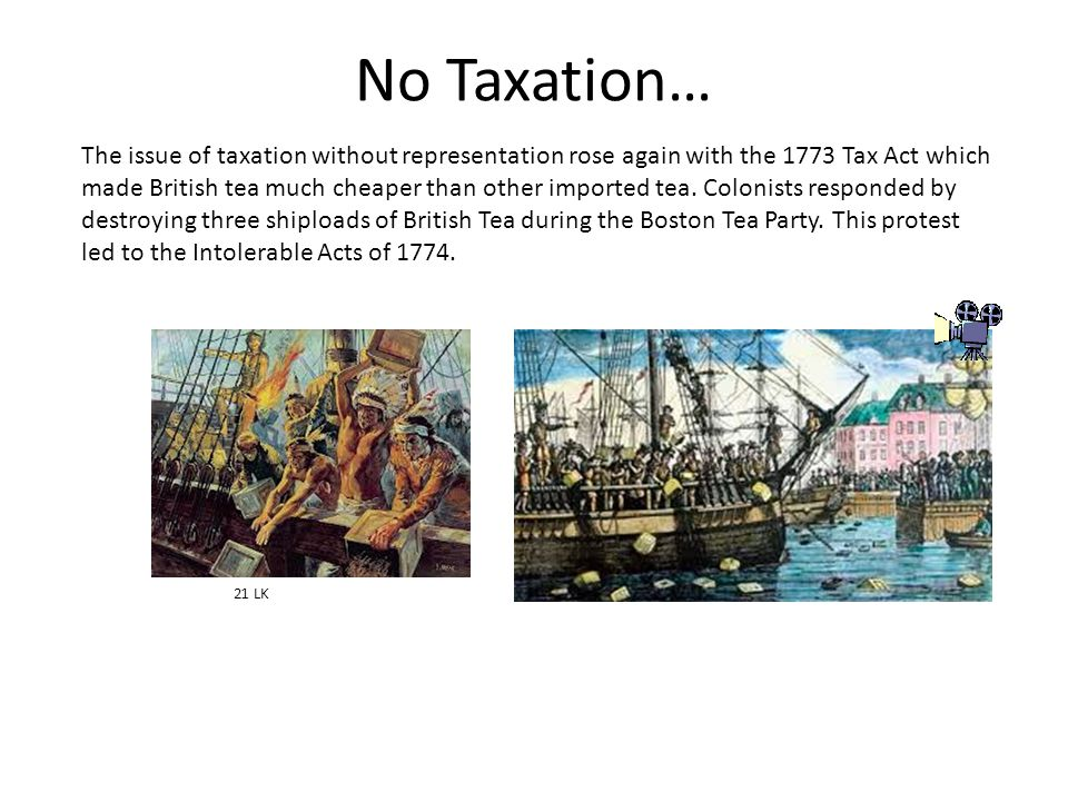 No Taxation…