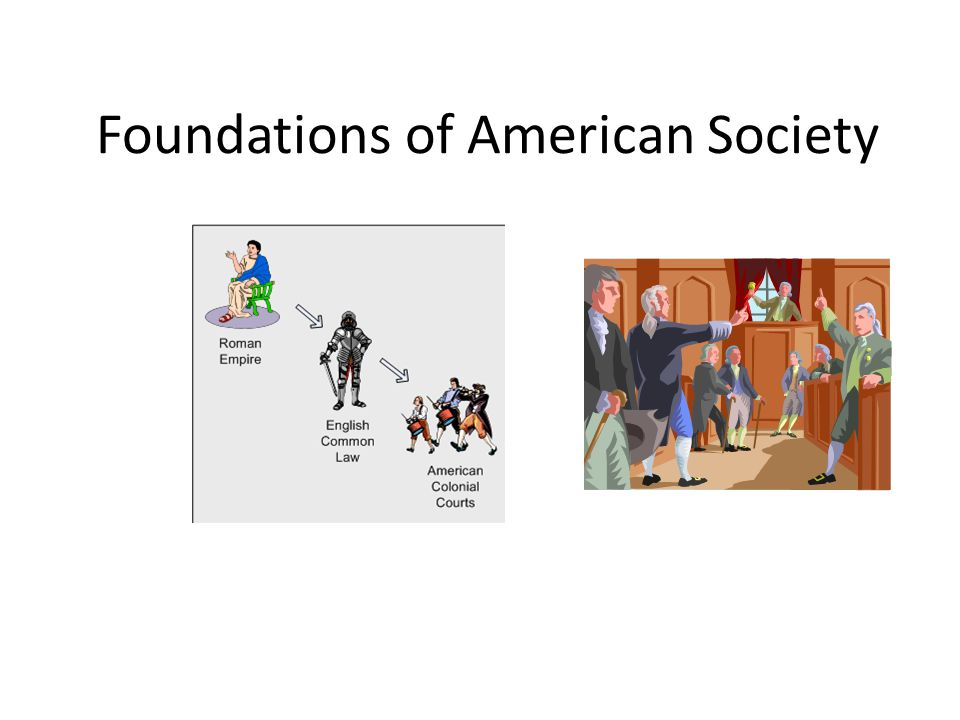 Foundations of American Society