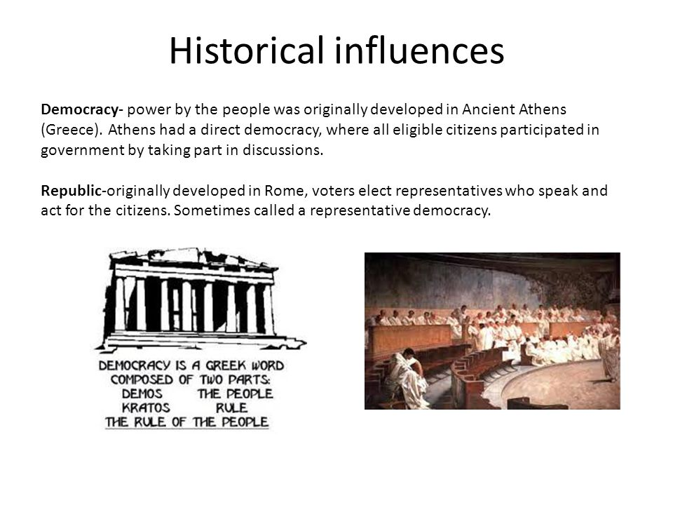 Historical influences